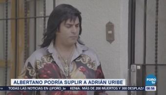 #LoEspectaculardeME 'Albertano' podría sustituir a Adrián Uribe en transmisión de Rusia