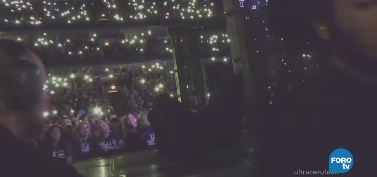 #LoEspectaculardeME: Bono sufre caída durante concierto en Chicago