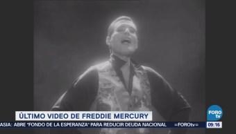 #LoEspectaculardeME: El último video de Freddie Mercury
