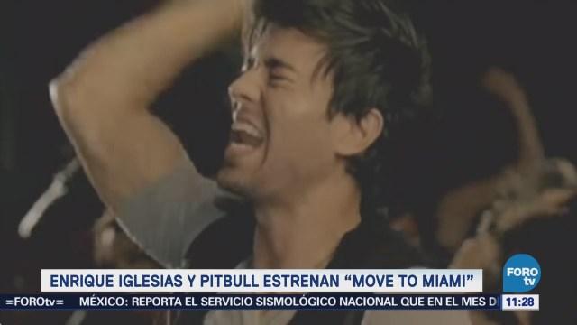 Enrique Iglesias y Pitbull estrenan Move