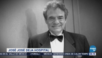 #LoEspectaculardeME: José José abandona hospital de rehabilitación