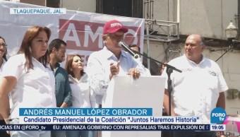 López Obrador Tiene Actividades Tlaquepaque