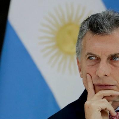 Macri negocia con FMI acuerdo para recibir una 'línea de apoyo financiero'