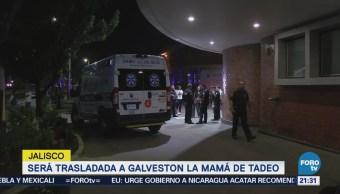 Madre Tadeo, Espera Trasladada Galvestón Texas