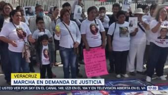 Madres Desaparecidos Marchan Exigir Justicia