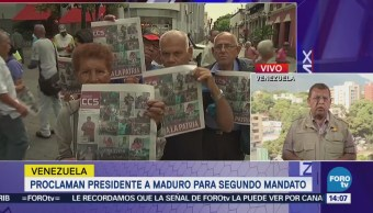 Maduro Ordena Expulsar Representante Negocios Eu Venezuela