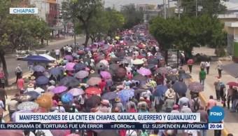 Manifestaciones en México por el Día