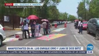 Manifestantes piden ampliar matricula en el IPN