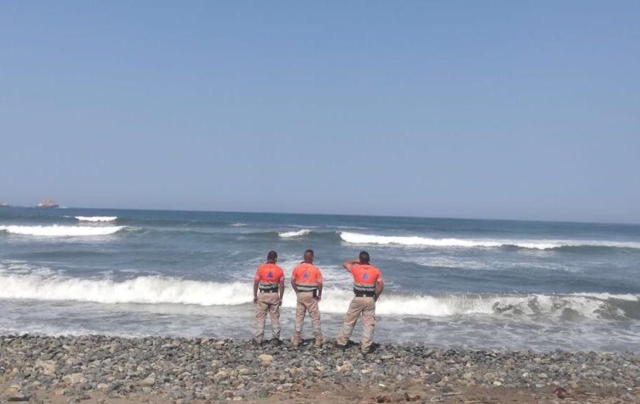 Continúan lluvias y oleaje por 'Aletta' en costas Guerrero