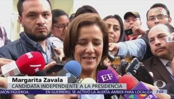 Margarita Zavala defiende derecho de empresarios a expresarse
