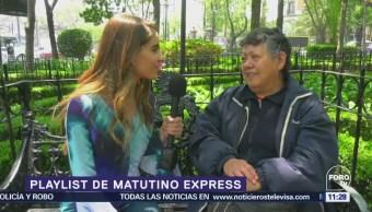 Playlist Matutino Express Fernanda Santos Canciones Más Escuchadas Semana