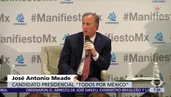 Meade afirma que las encuestas no son las que definen el resultado electoral