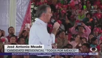 Meade dice que no entregarán el país a quien destruye inversiones