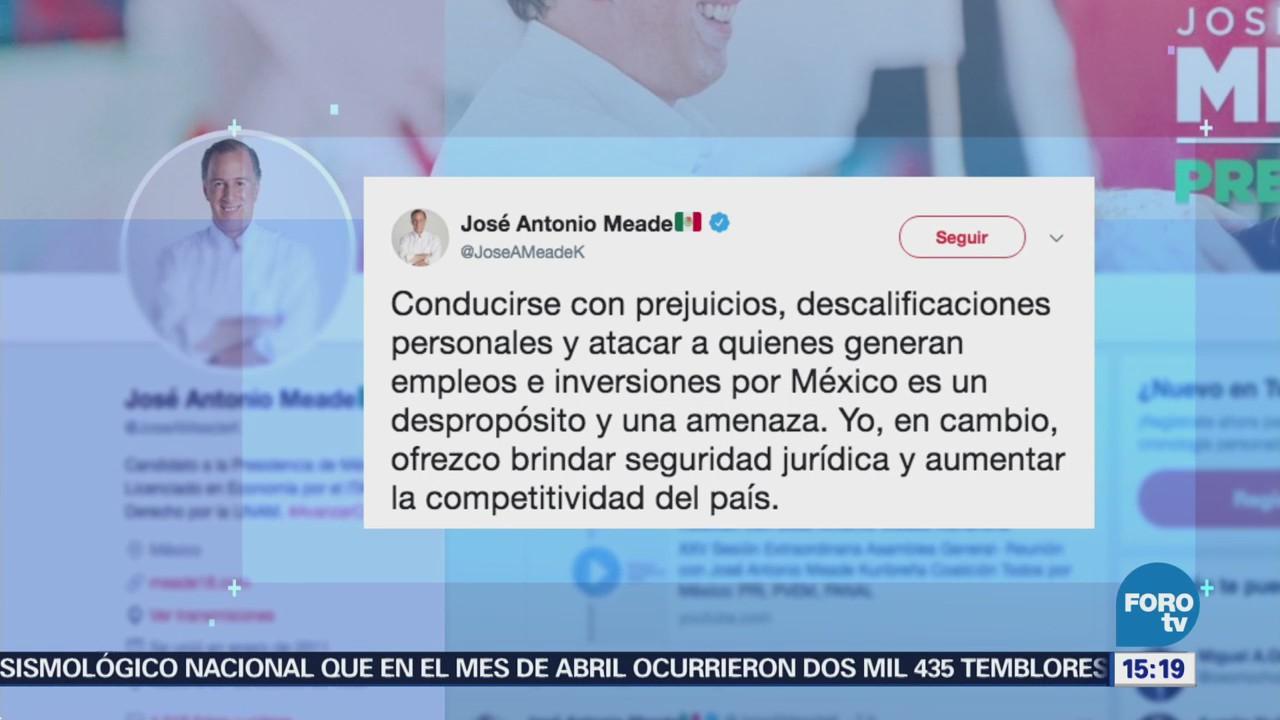 Meade Ofrece Aumentar Competitividad País
