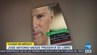 José Antonio Meade Presenta Libro CDMX