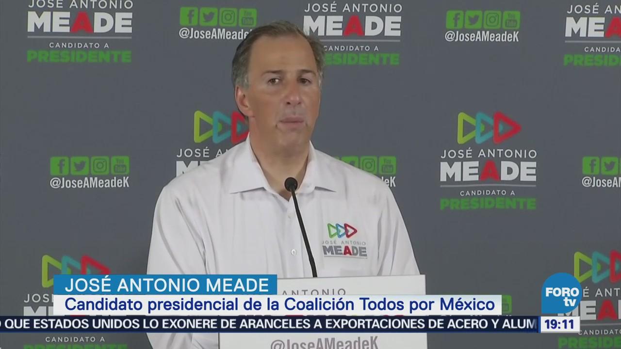 Meade Reconoce Trabajo Enrique Ochoa PRI