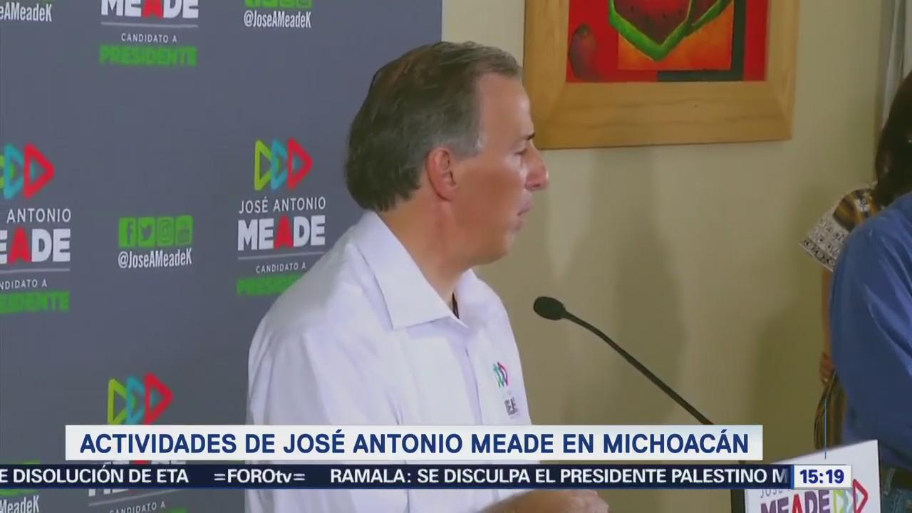 Meade Reconoce Trabajo Enrique Ochoa Frente Pri