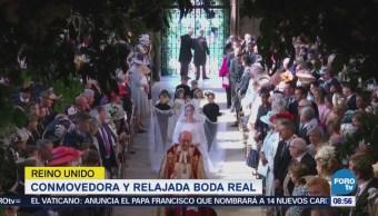 Medios de todo el mundo cubren la boda real