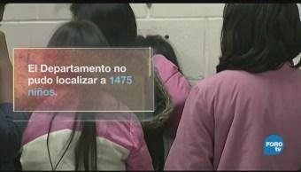 Menores Indocumentados Detenidos No Localizados Unicef