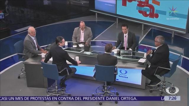 Mesa política en Despierta con Loret: Castañeda, Nuño, Cantú, Zavala y Torres