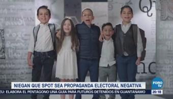 Mexicanos Primero Defiende Spot Niños Candidatos