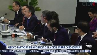 México participa en audiencia de la CIDH sobre caso Iguala
