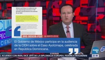 México participa en audiencia de la CIDH