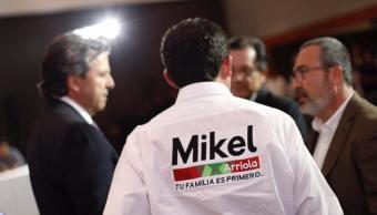 Mikel Arriola pide formar frente común contra Morena