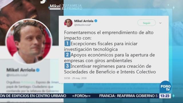 Mikel Arriola Incentivará Emprendimiento Alto Impacto