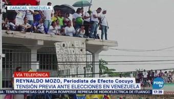 en Venezuela previo a elecciones presidenciales