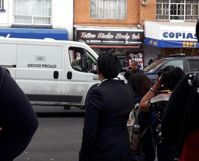 Asesinan a tatuador y cliente en colonia Guadalupe Tepeyac