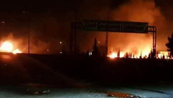 Mueren nueve combatientes sirios ataque aéreo israelí