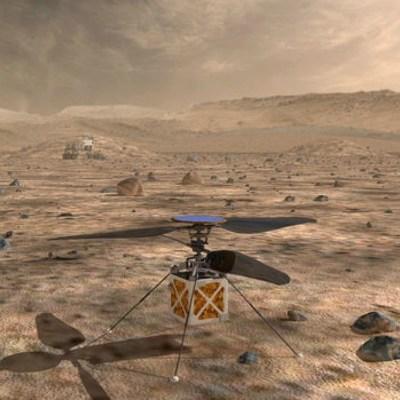 NASA enviará mini-helicóptero a Marte en 2020