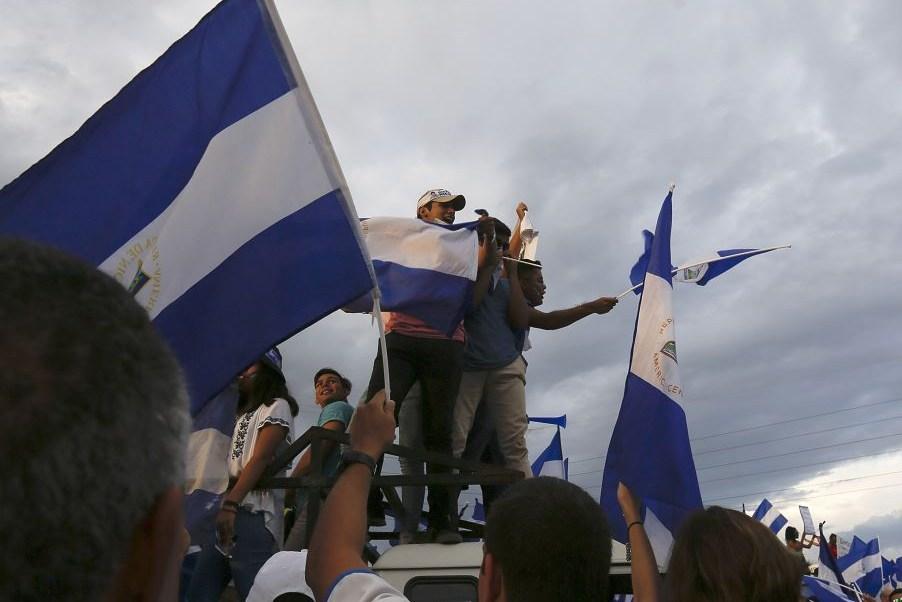 Violencia y lluvia ponen tono gris a Nicaragua