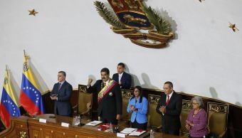 Maduro jura como presidente reelecto ante la oficialista Constituyente