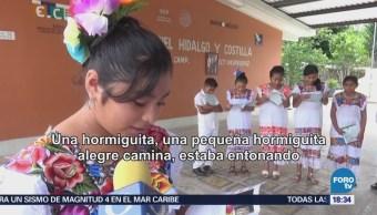 Niños Mayas Campeche Escriben Poemas Lengua Nativa