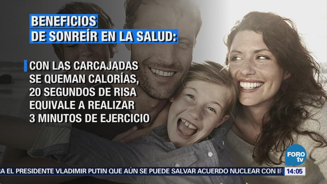 Sonreír Aumenta Salud Personas