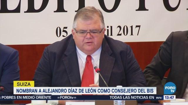 Nombran Alejandro Díaz León Consejero BIS