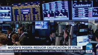 Tensión Sobre Deuda Pública Italiana Afectará Estados Unidos
