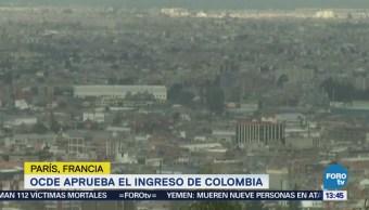 Ocde Aprueba Colombia Como Miembro