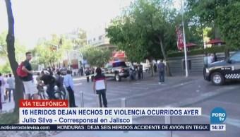 Opera Normalidad Zona Donde Ocurrió Balacera Guadalajara