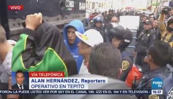 Operativo en Tepito contra el narcomenudeo