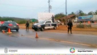 Asesinan a dos policías en la carretera federal Chilpancingo Iguala