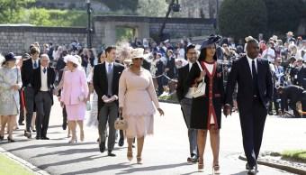comienzan llegar primeros invitados boda real windsor