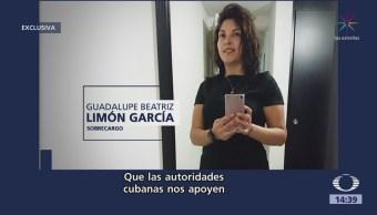 Padre Sobrecargo Muerta Cuba Agradece Gobierno México