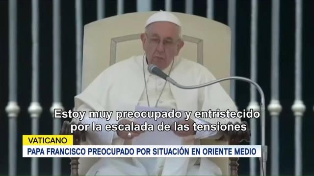 Papa Francisco Uso Violencia Nunca Llevará Paz