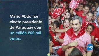 Paraguay Mandatario Electo Lazos Dictadura Mario Abdo Benítez,