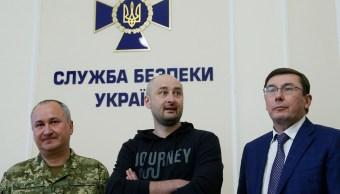 Reaparece periodista ruso tras ser dado por muerto