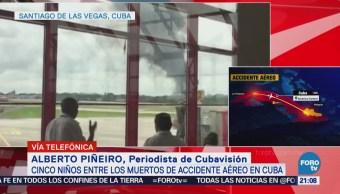 Permanecen Graves Sobrevivientes Accidente Aéreo Cuba