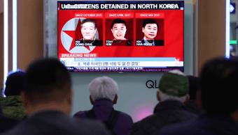 Aprecia Trump que Corea del Norte haya liberado a tres estadounidenses